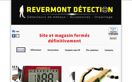 Example website REVERMONT DETECTION