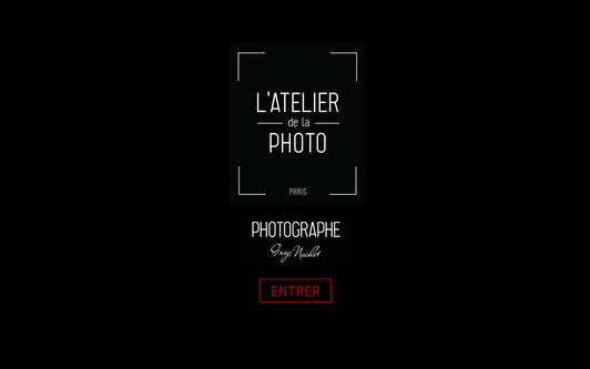 Example website L'ATELIER de la PHOTO