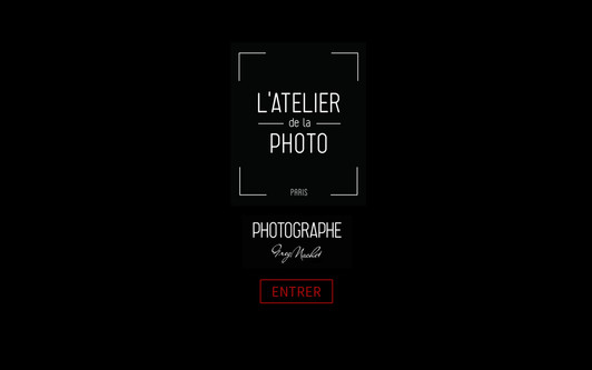 Site exemple L'ATELIER de la PHOTO