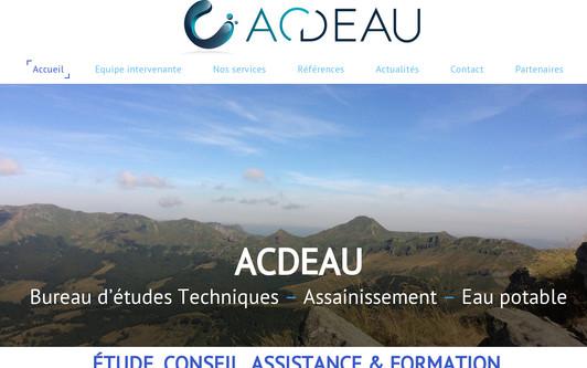 Ejemplo de sitio web ACDEAU