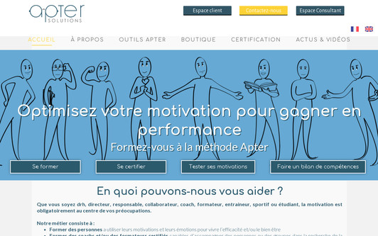 Site exemple Apter Solutions