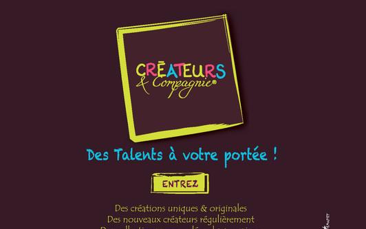 Site exemple CRÉATEURS & Compagnie