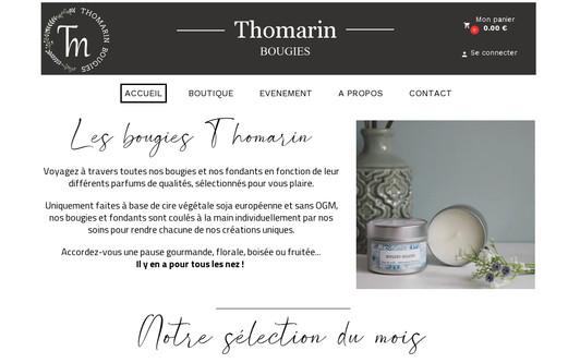 Ejemplo de sitio web thomarin