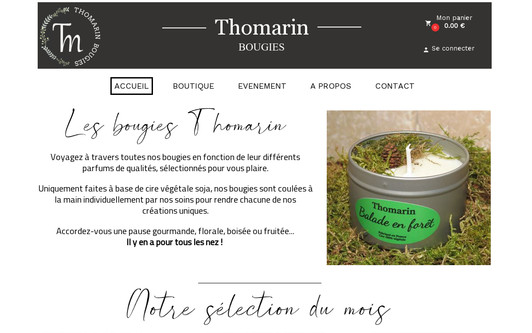 Site exemple thomarin