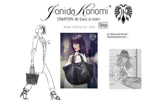 Site exemple jonidakonomi.com