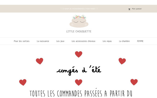 Site exemple Little chouquette