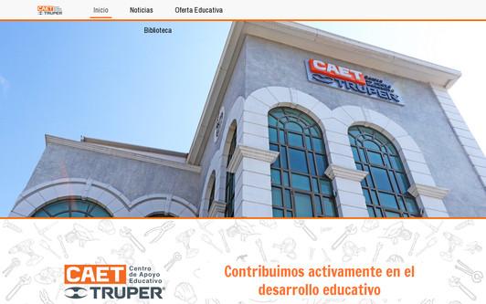 Ejemplo de sitio web CAET