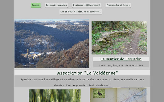 Site exemple L' Atelier Nature - Lavaudieu