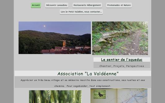 Example website L' Atelier Nature - Lavaudieu