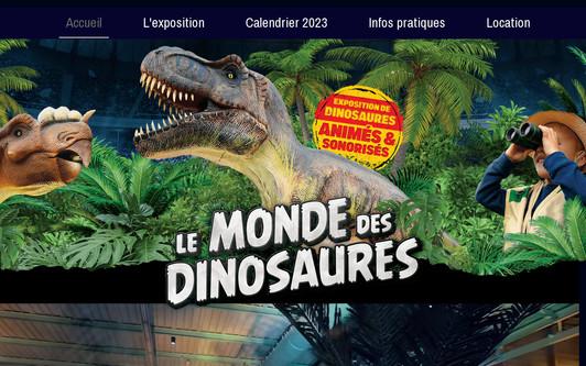 Ejemplo de sitio web lemondedesdinosaures