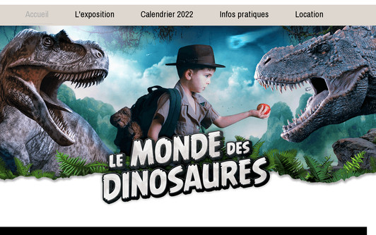 Site exemple lemondedesdinosaures