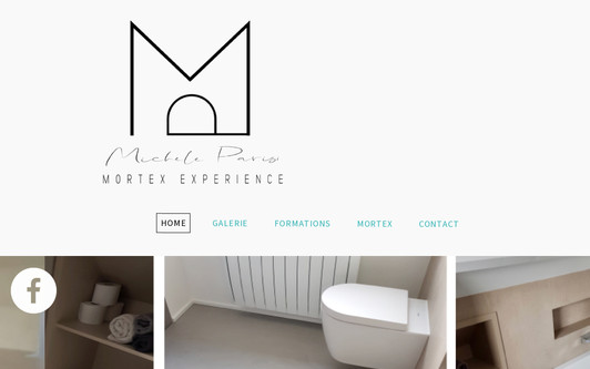 Example website LINTERIEUR MORTEX