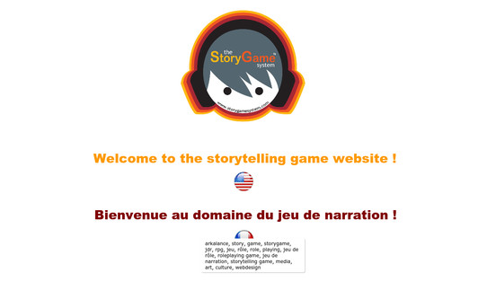 Example website StoryGame™