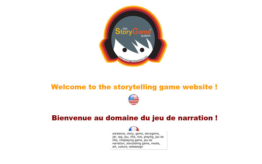 Site exemple StoryGame™