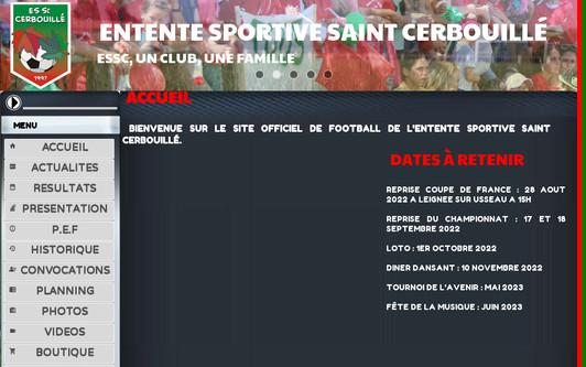 Ejemplo de sitio web stcerbouille
