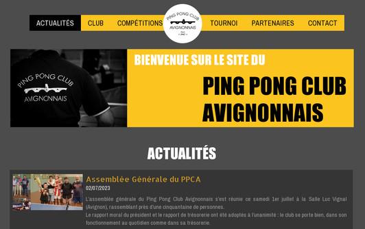 Site exemple www.ppcavignonnais.fr