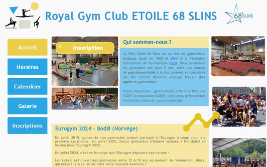 Ejemplo de sitio web etoile68slins