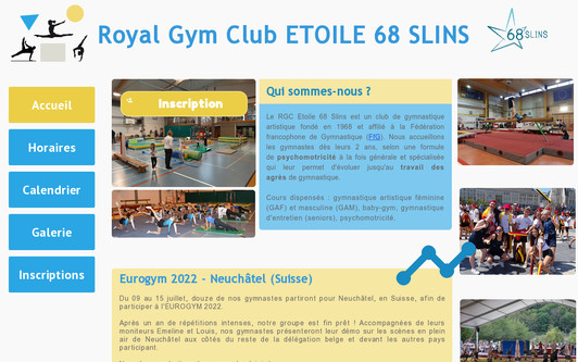 Site exemple etoile68slins