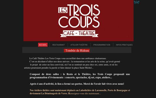 Example website cafelestroiscoups