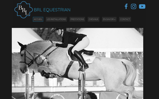 Example website Écuries BRL