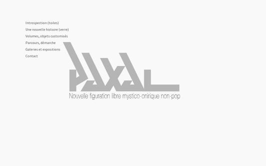 Ejemplo de sitio web Paxal