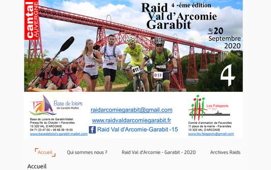Ejemplo de sitio web Les Falageois
