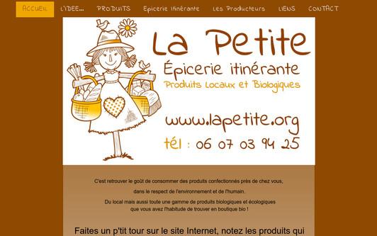 Site exemple La Petite Epicerie et Savoir-Faire d'Ici