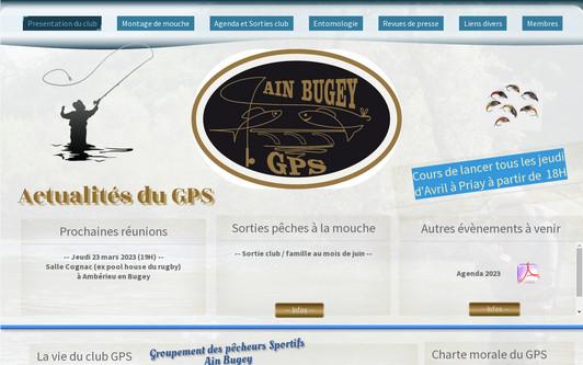 Ejemplo de sitio web Gps Ain Bugey
