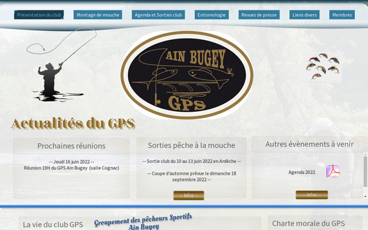 Site exemple Gps Ain Bugey