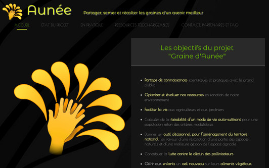 Site exemple Aunée Project