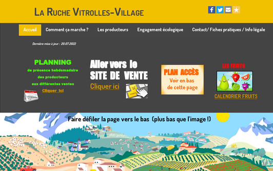 Site exemple La Ruche Vitrolles-Village