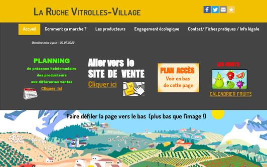 Site exemple La Ruche Vitrolles-Village