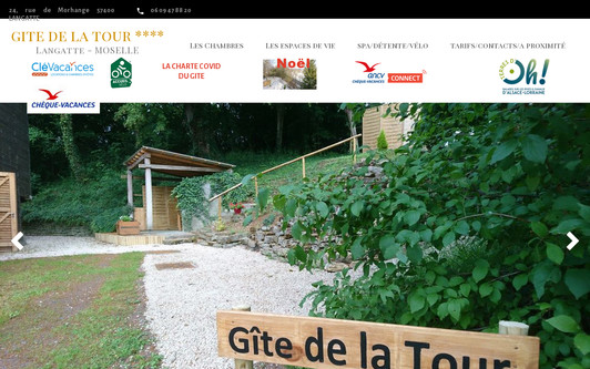 Site exemple gitedelatour