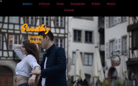 Ejemplo de sitio web Strasbourg Kizomba