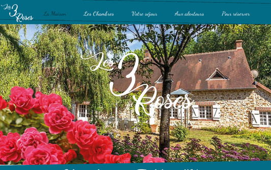 Site exemple les 3 roses