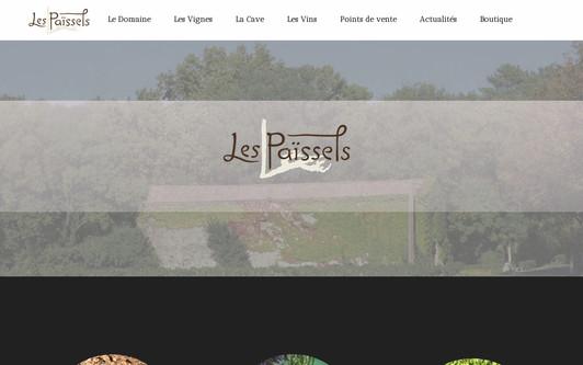 Ejemplo de sitio web Les Païssels