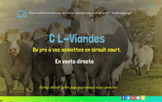 Site exemple C L-Viandes