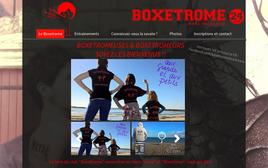 Site exemple Boxetrome