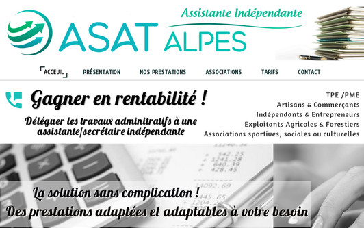 Example website asat.alpes.fr