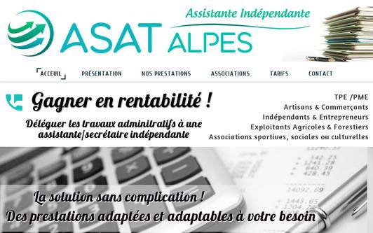 Example website asat.alpes.fr