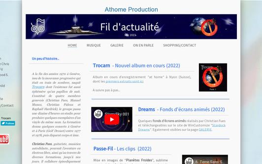 Ejemplo de sitio web Trocarn