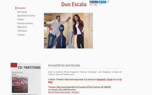 Example website Duo Escala