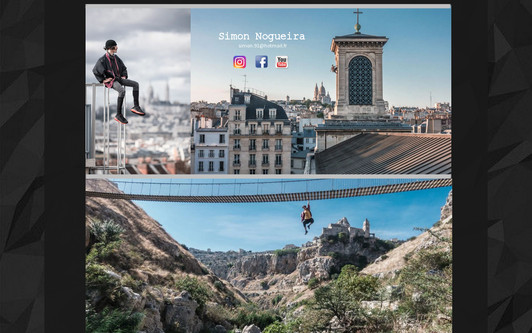 Ejemplo de sitio web Simon Nogueira
