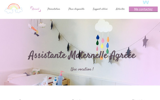 Example website Assistante Maternelle Agréée