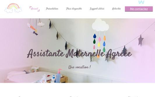 Site exemple Assistante Maternelle Agréée