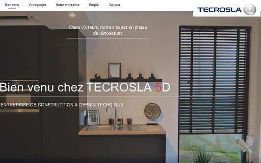 Site exemple TECROSLA5D.be