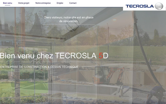 Site exemple TECROSLA5D.be