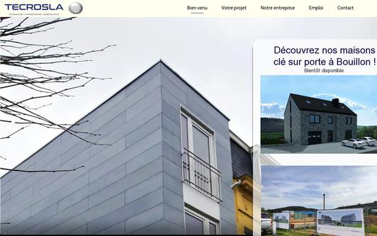 Ejemplo de sitio web Maisondeloisir.be