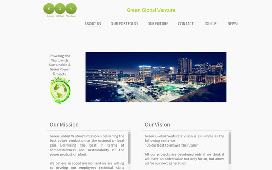 Example website GGV