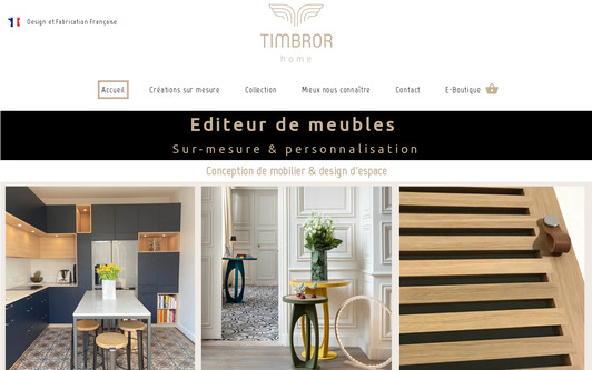 Site exemple Timbror Home
